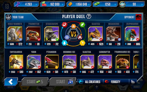 Download Jurassic World: The Game 1.51.6 - Android Jurassic Park world simulation game