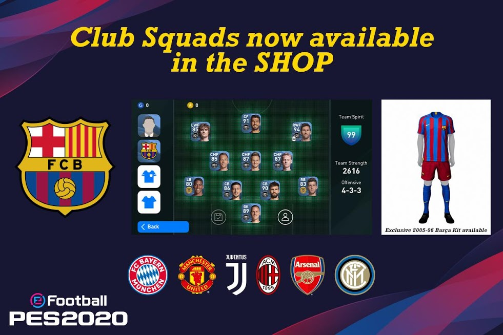 Download 5.5.0 eFootball PES 2021 - Peace football game for Android